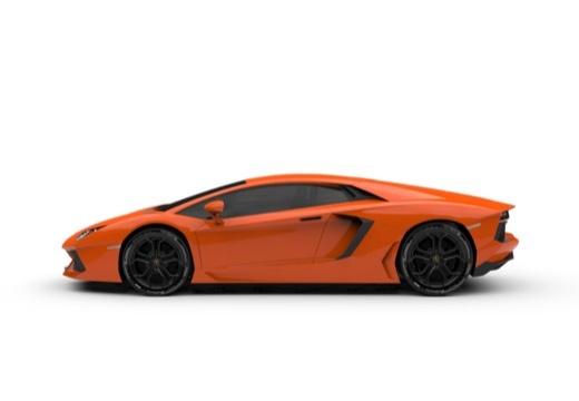 LAMBORGHINI Aventador I coupe boczny lewy