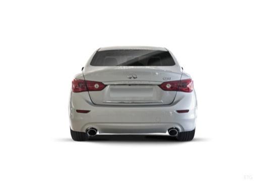 INFINITI Q50 I sedan biały tylny
