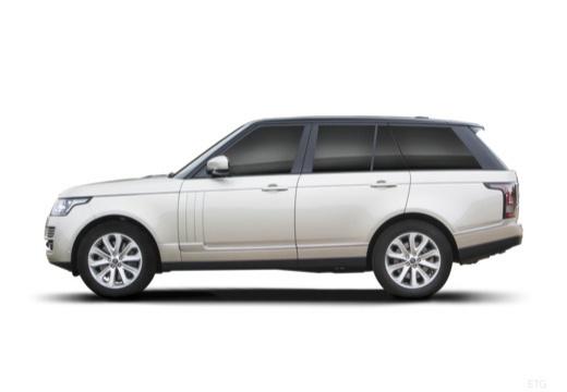 LAND ROVER Range Rover VI kombi biały boczny lewy