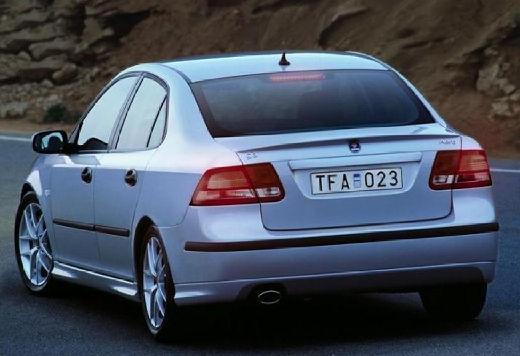 SAAB 9-3 Sport I sedan silver grey tylny lewy