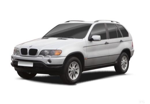 BMW X5 X 5 E53 I kombi silver grey przedni lewy