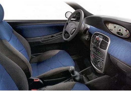 LANCIA Y hatchback wnętrze