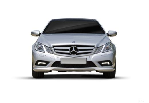 MERCEDES-BENZ Klasa E C 207 I coupe silver grey przedni