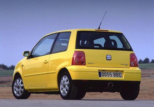 SEAT Arosa hatchback żółty tylny lewy