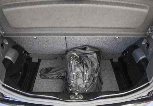 SKODA Citigo I hatchback przestrzeń załadunkowa