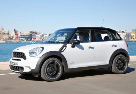 MINI [BMW] Mini MINI Countryman kombi biały przedni lewy