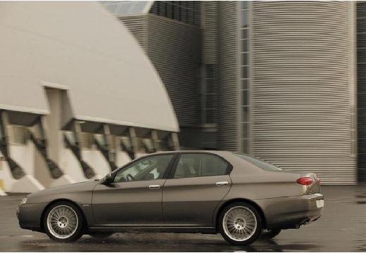 ALFA ROMEO 166 FL sedan szary ciemny tylny lewy