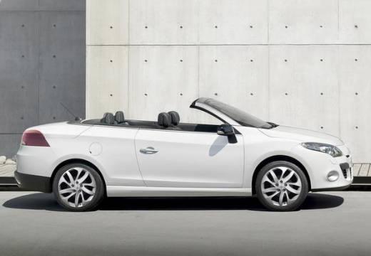 RENAULT Megane III CC kabriolet biały boczny prawy