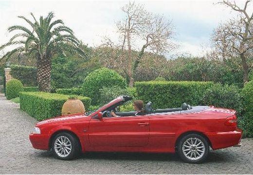VOLVO C70 Cabrio I kabriolet czerwony jasny boczny lewy