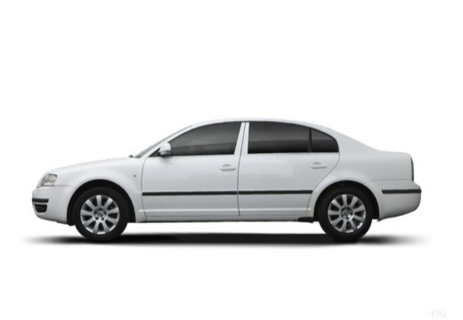 SKODA Superb II sedan boczny lewy