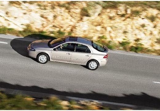 RENAULT Laguna II II hatchback silver grey boczny lewy