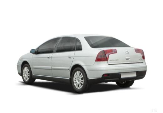 CITROEN C5 II hatchback silver grey tylny lewy