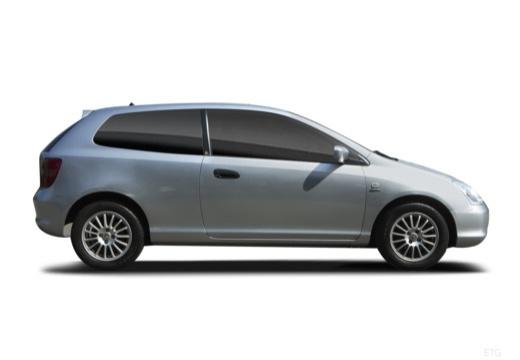 HONDA Civic IV hatchback boczny prawy