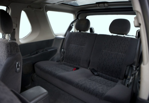 OPEL Frontera Kombi III hardtop silver grey wnętrze
