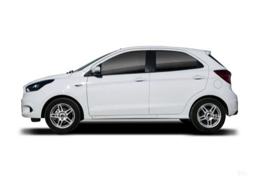FORD Ka+ hatchback biały boczny lewy