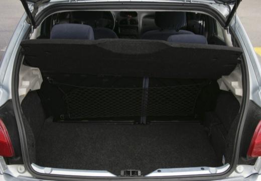 PEUGEOT 206 II hatchback przestrzeń załadunkowa