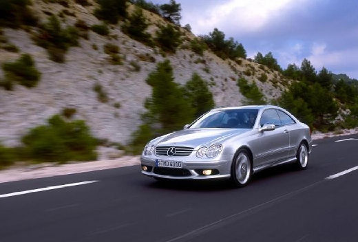MERCEDES-BENZ CLK 55 AMG Coupe C 209 I 5.5 367KM (benzyna)