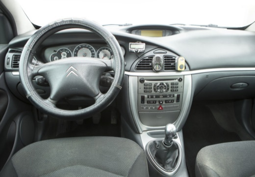 CITROEN C5 II hatchback silver grey tablica rozdzielcza