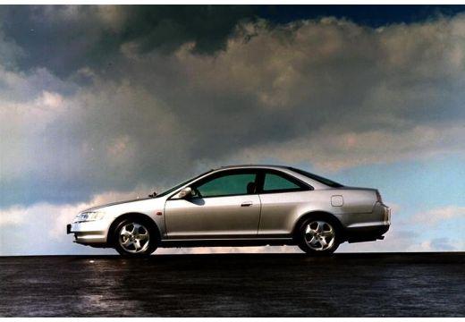 HONDA Accord III coupe silver grey boczny lewy