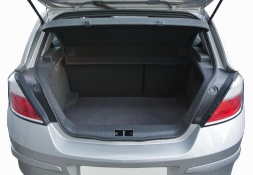 OPEL Astra III I hatchback przestrzeń załadunkowa