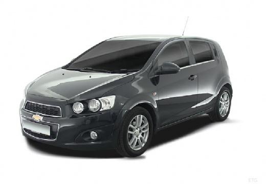 CHEVROLET Aveo hatchback szary ciemny