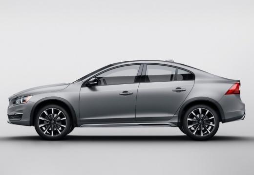 VOLVO S60 sedan silver grey boczny lewy
