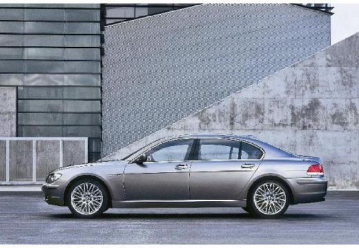 BMW Seria 7 E65 E66 II sedan silver grey boczny lewy