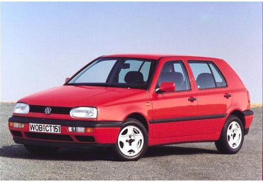 VOLKSWAGEN Golf III hatchback czerwony jasny przedni lewy