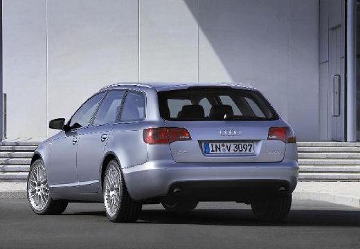 AUDI A6 Avant 4F I kombi silver grey tylny lewy
