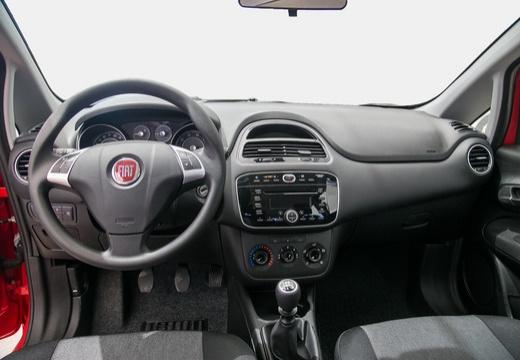 FIAT Punto II hatchback czerwony jasny tablica rozdzielcza