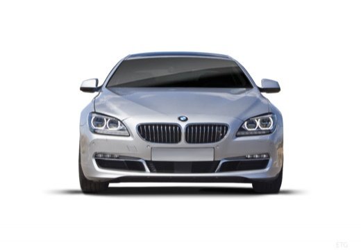 BMW Seria 6 Gran Coupe F06 I sedan silver grey przedni