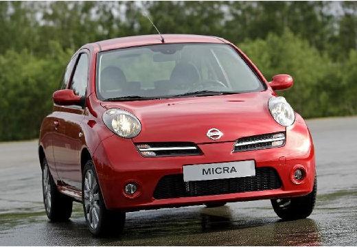 NISSAN Micra VI hatchback czerwony jasny przedni prawy