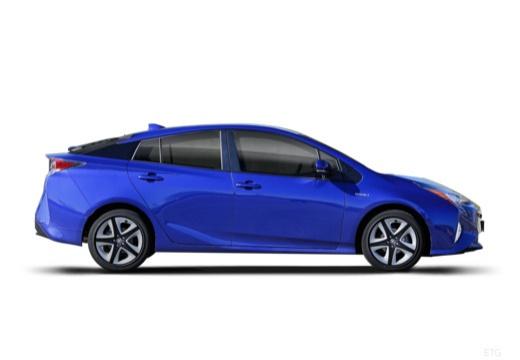 Toyota Prius hatchback boczny prawy