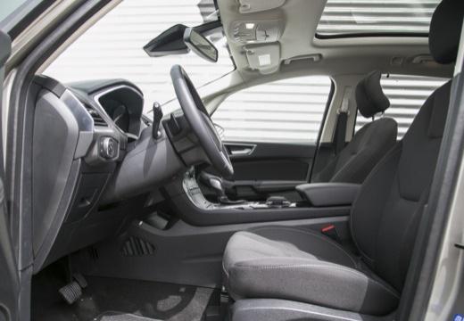 FORD S-MAX van silver grey wnętrze