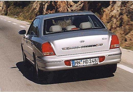 HYUNDAI XG I sedan silver grey tylny lewy