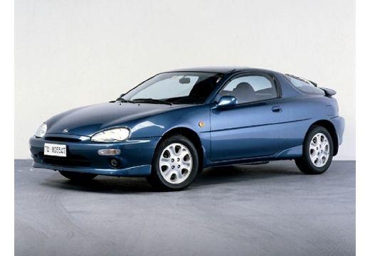 MAZDA MX-3 coupe niebieski jasny przedni lewy