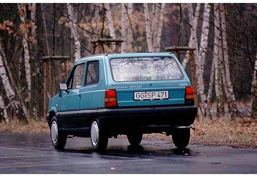 SEAT Marbella hatchback niebieski jasny tylny lewy