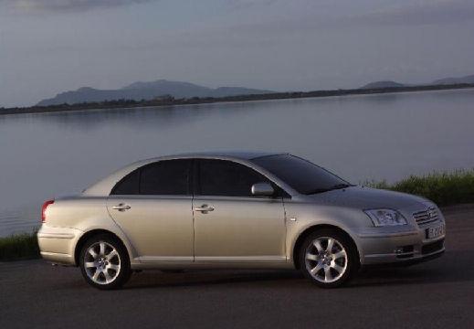 Toyota Avensis III sedan silver grey przedni prawy
