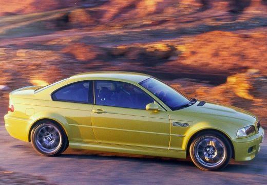 BMW Seria 3 coupe złoty tylny prawy