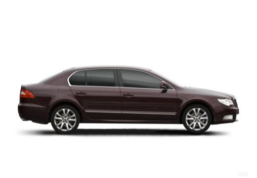 SKODA Superb III hatchback boczny prawy