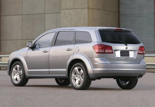 DODGE Journey I van silver grey tylny lewy