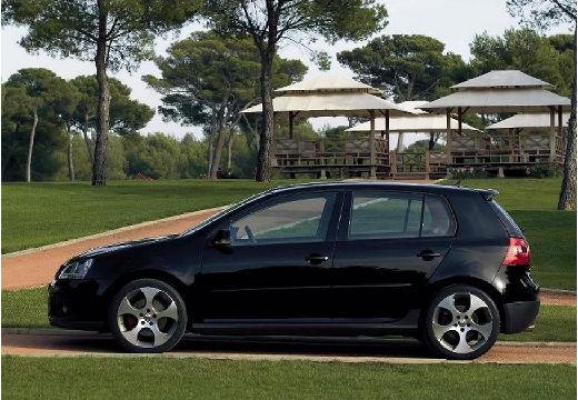 VOLKSWAGEN Golf V hatchback czarny boczny lewy