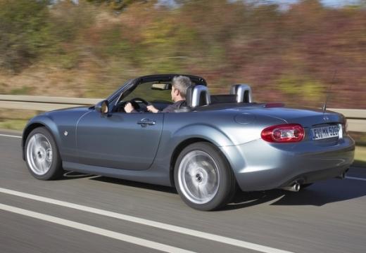 MAZDA MX-5 roadster silver grey tylny lewy