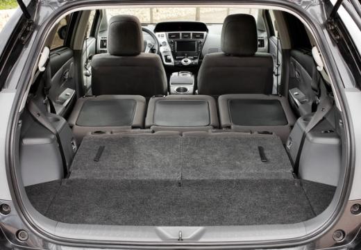 Toyota Prius + I kombi przestrzeń załadunkowa