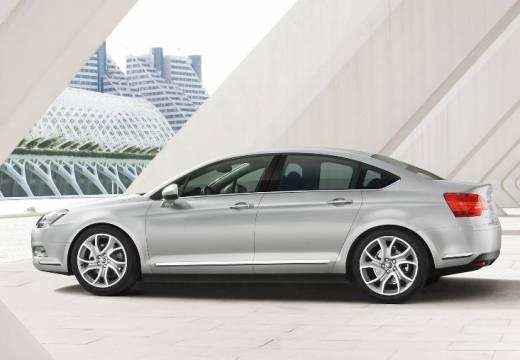 CITROEN C5 III sedan silver grey boczny lewy