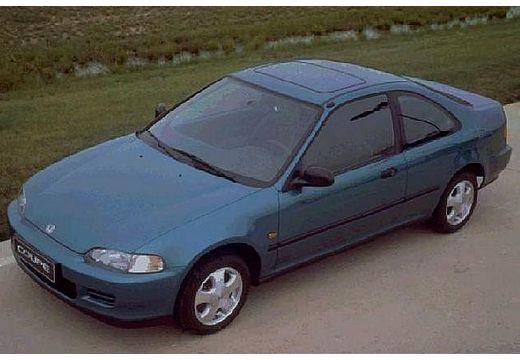 HONDA Civic coupe niebieski jasny przedni lewy