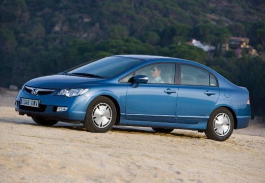 HONDA Civic VI sedan niebieski jasny przedni lewy