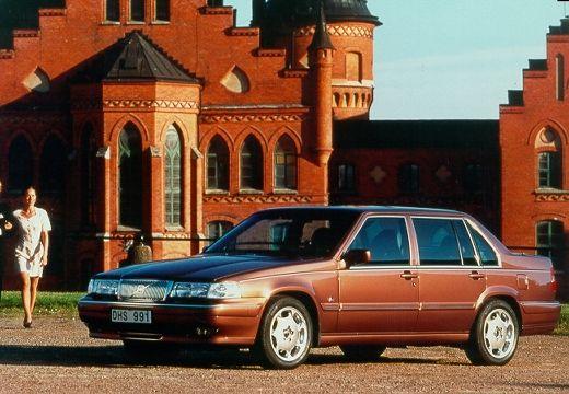 VOLVO S90 sedan bordeaux (czerwony ciemny) przedni lewy