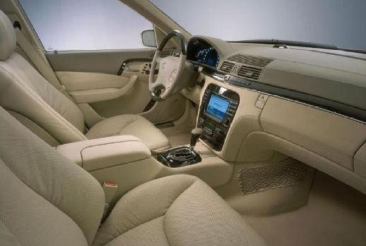 MERCEDES-BENZ S 55 L AMG Sedan W 220 II 5.5 500KM (benzyna)