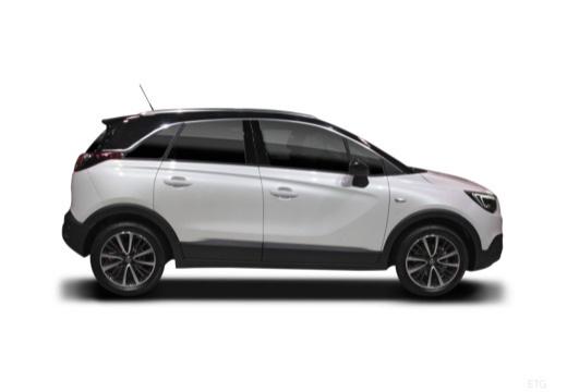 OPEL Crossland X hatchback boczny prawy